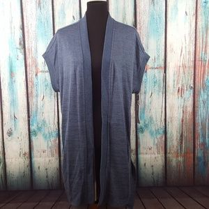 NWT Calvin Klein Performance Open Front Cardigan